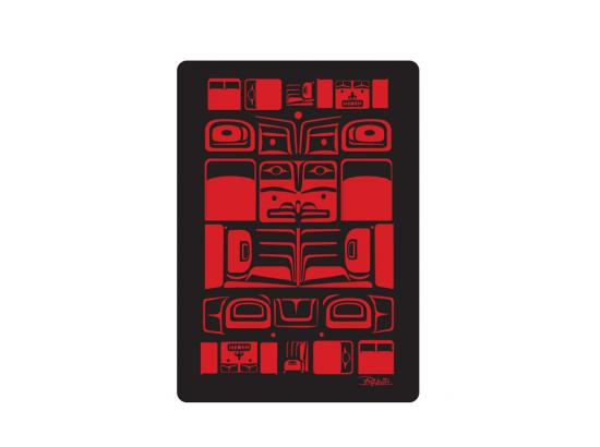Chilkat Playing Cards fNative Design by Bill Helin