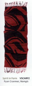 Spirit in Form Native Northwest scarf by Ryan Cramner
